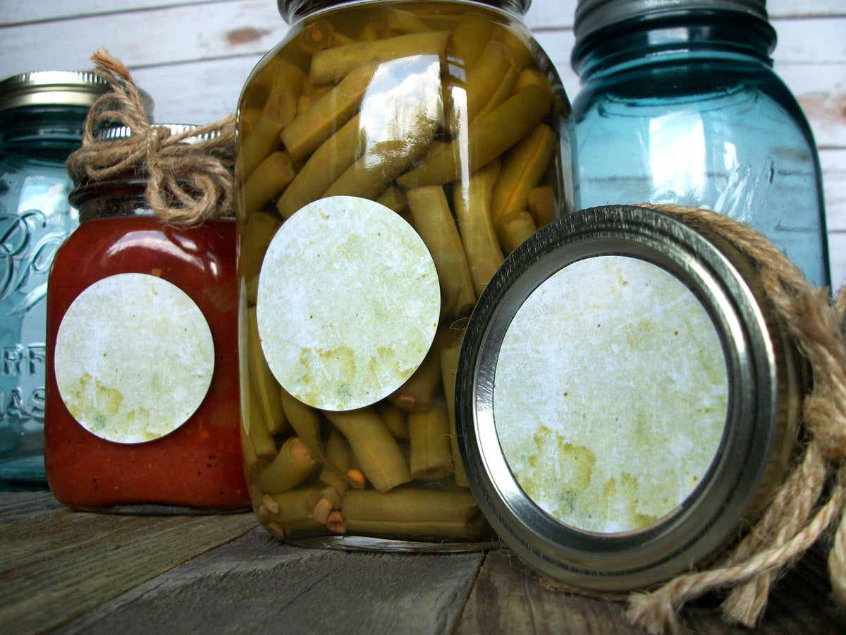 Antique vintage canning jar labels | CanningCrafts.com