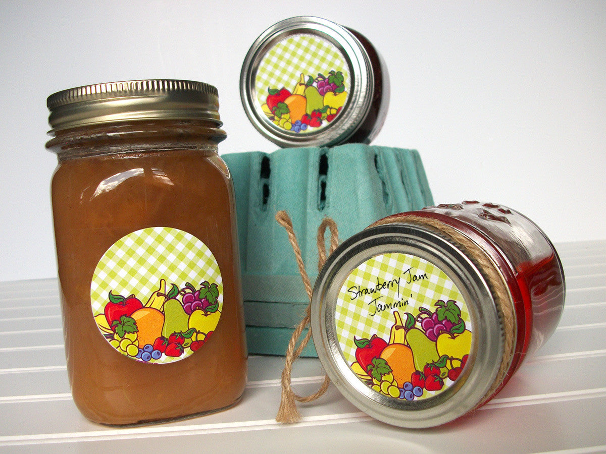 Fruit Canning Jar Labels | CanningCrafts.com