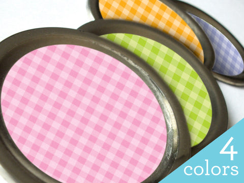 Checkered canning labels | CanningCrafts.com