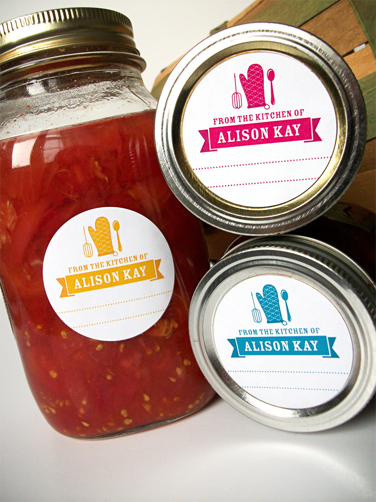 Custom From the Kitchen of Labels | CanningCrafts.com