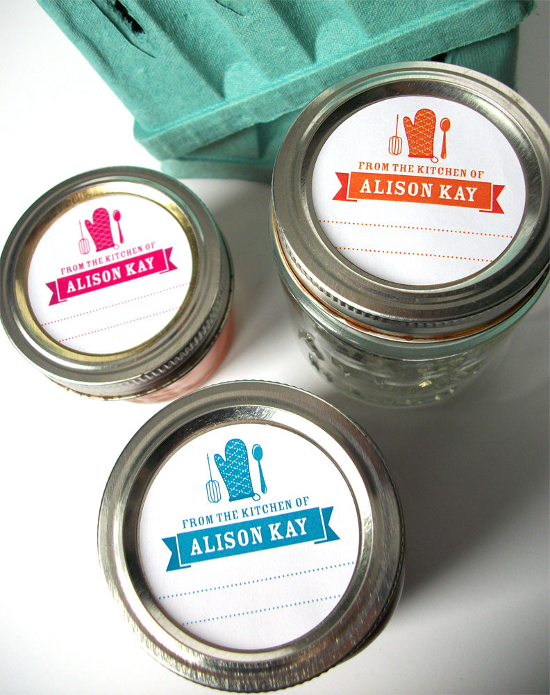 Custom Kitchen Labels | CanningCrafts.com