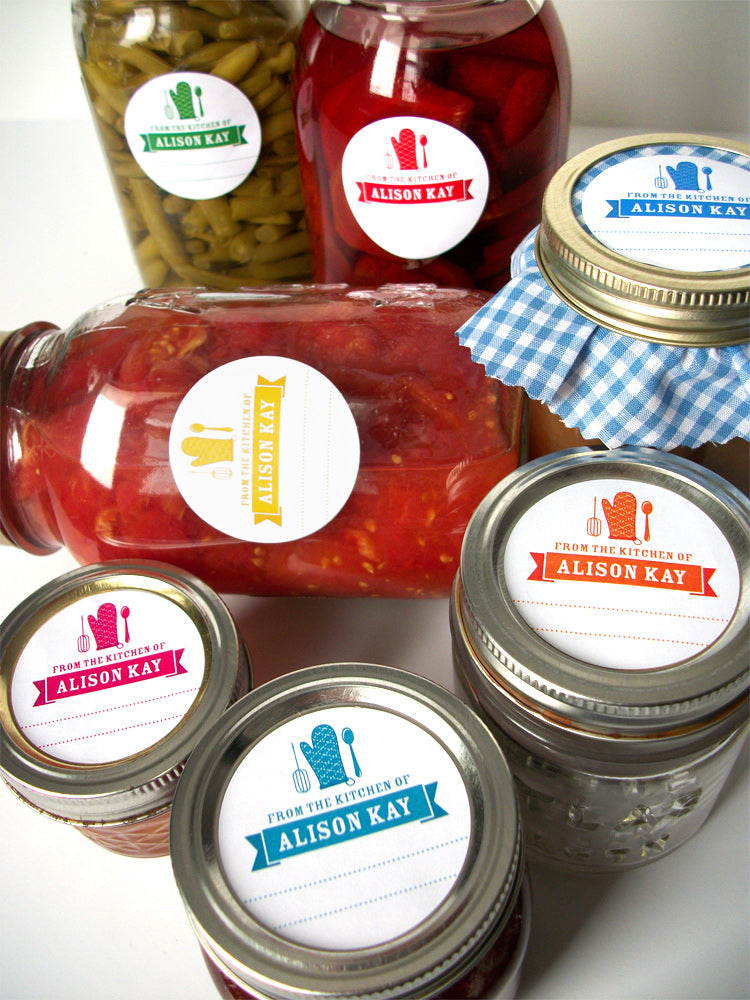 Custom Kitchen Canning Labels | CanningCrafts.com