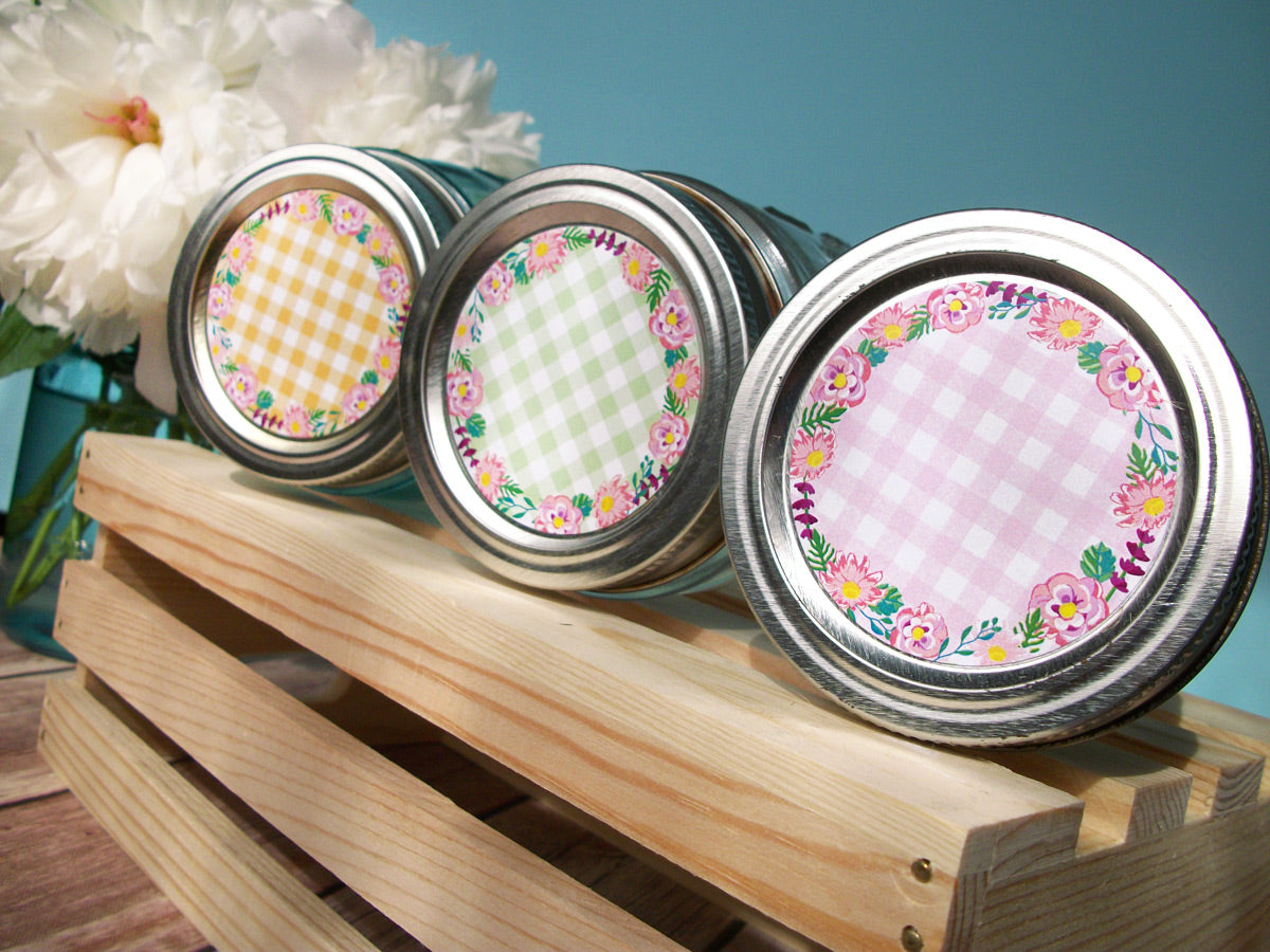 Cottage Chic Canning Labels | CanningCrafts.com