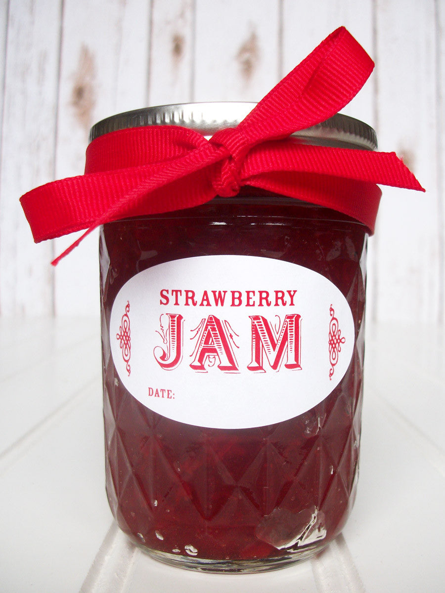 Quilted canning jar labels | CanningCrafts.com