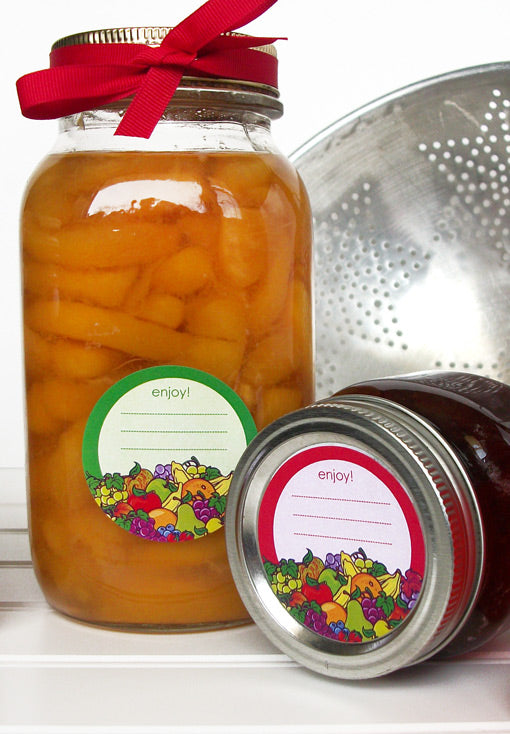 Fruit Canning Labels | CanningCrafts.com