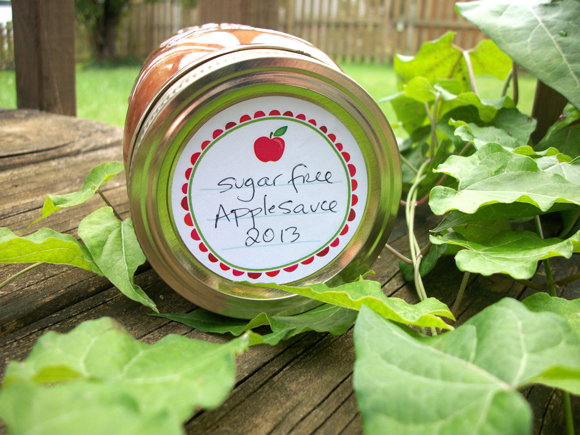 Apple Canning Labels | CanningCrafts.com
