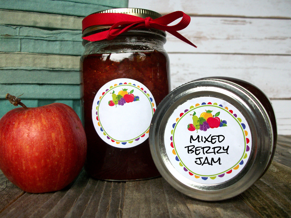 Fun Fruit Canning Jar Label | CanningCrafts.com
