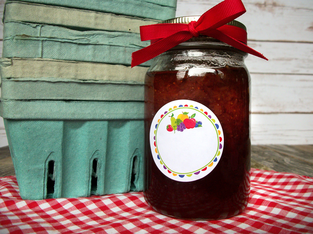 Fun Fruit Canning Label | CanningCrafts.com