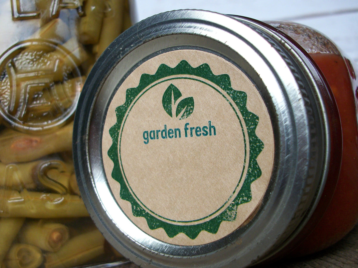 Garden Fresh canning labels | CanningCrafts.com
