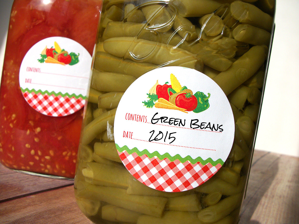 Vegetable Canning Labels | CanningCrafts.com