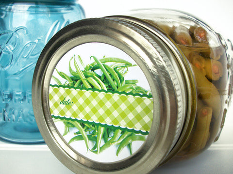 Green Bean Canning Labels | CanningCrafts.com
