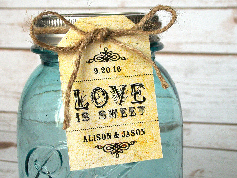 Custom Wedding Hang Tags