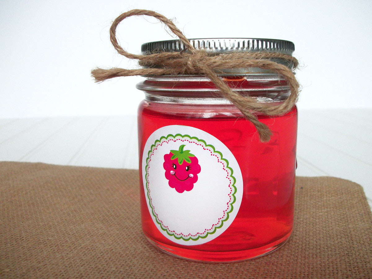Raspberry Canning Jar Labels | CanningCrafts.com