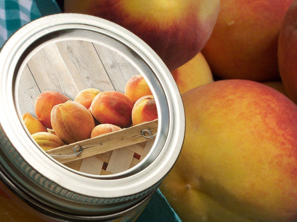 Peach Canning Labels | CanningCrafts.com