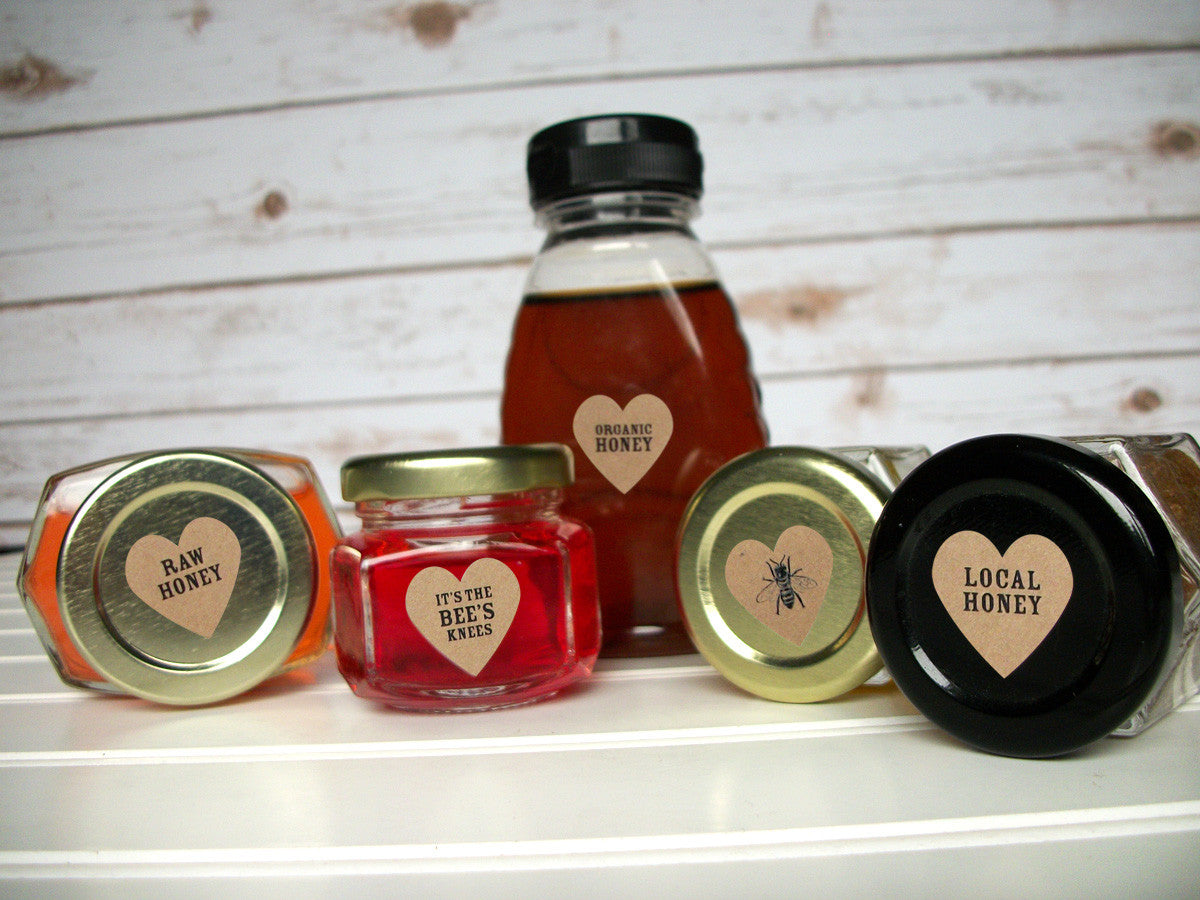 It's the Bees Knees honey labels | CanningCrafts.com