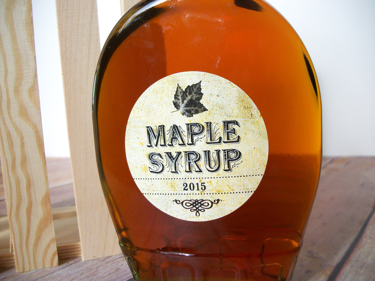 Vintage Maple Syrup Label | CanningCrafts.com