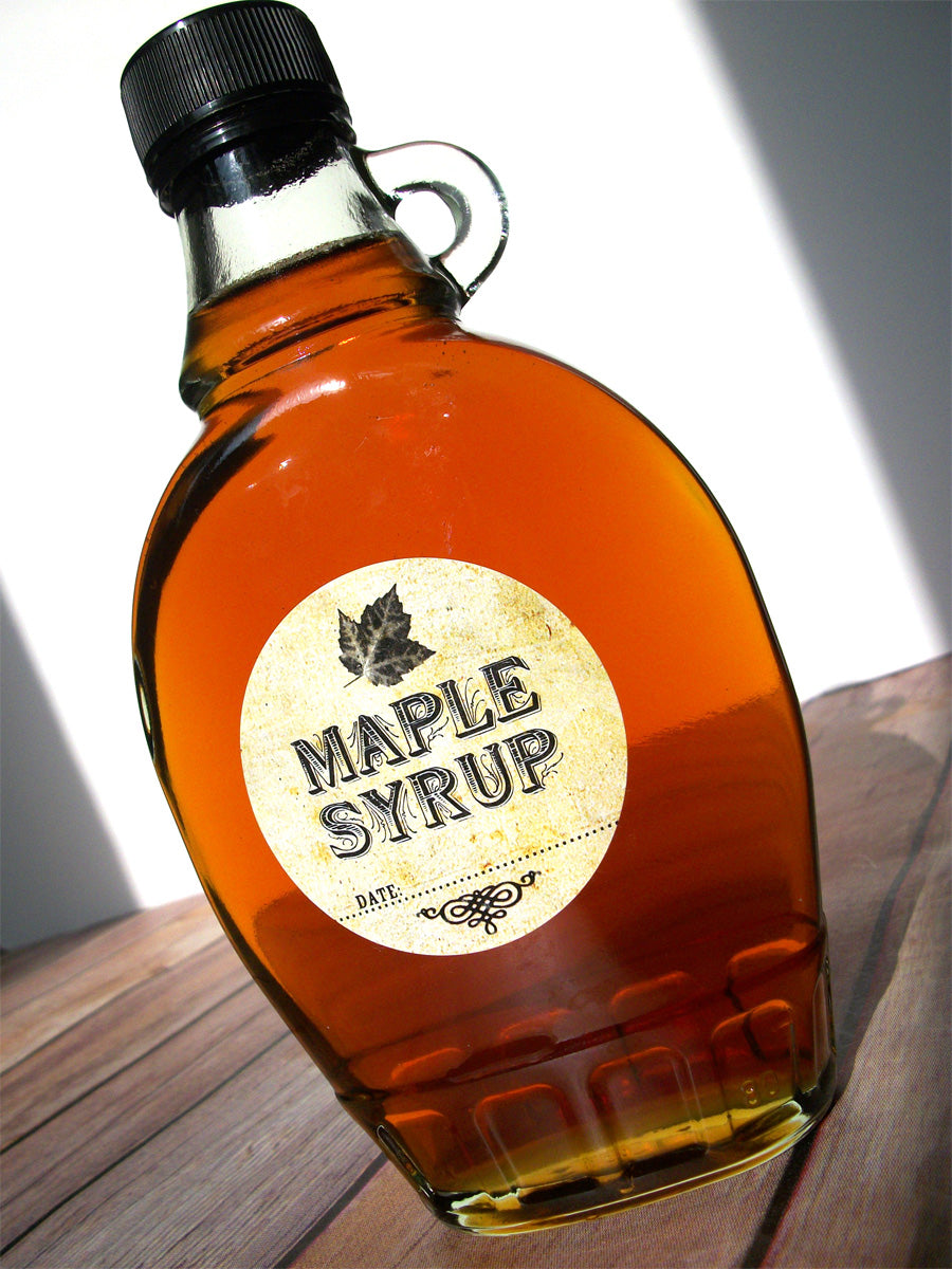 Vintage Maple Syrup Bottle Label | CanningCrafts.com