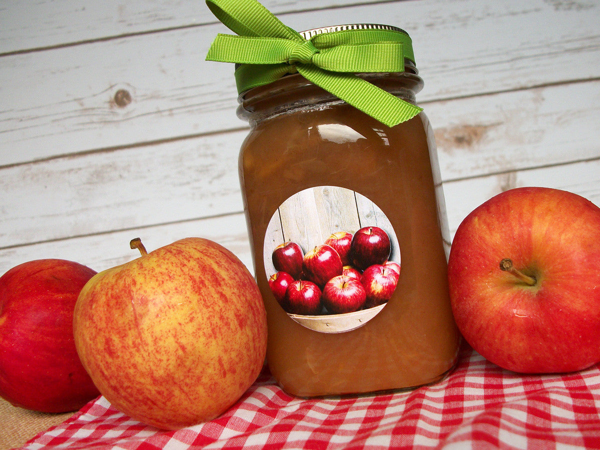 Market Fresh Apple Canning Labels | CanningCrafts.com