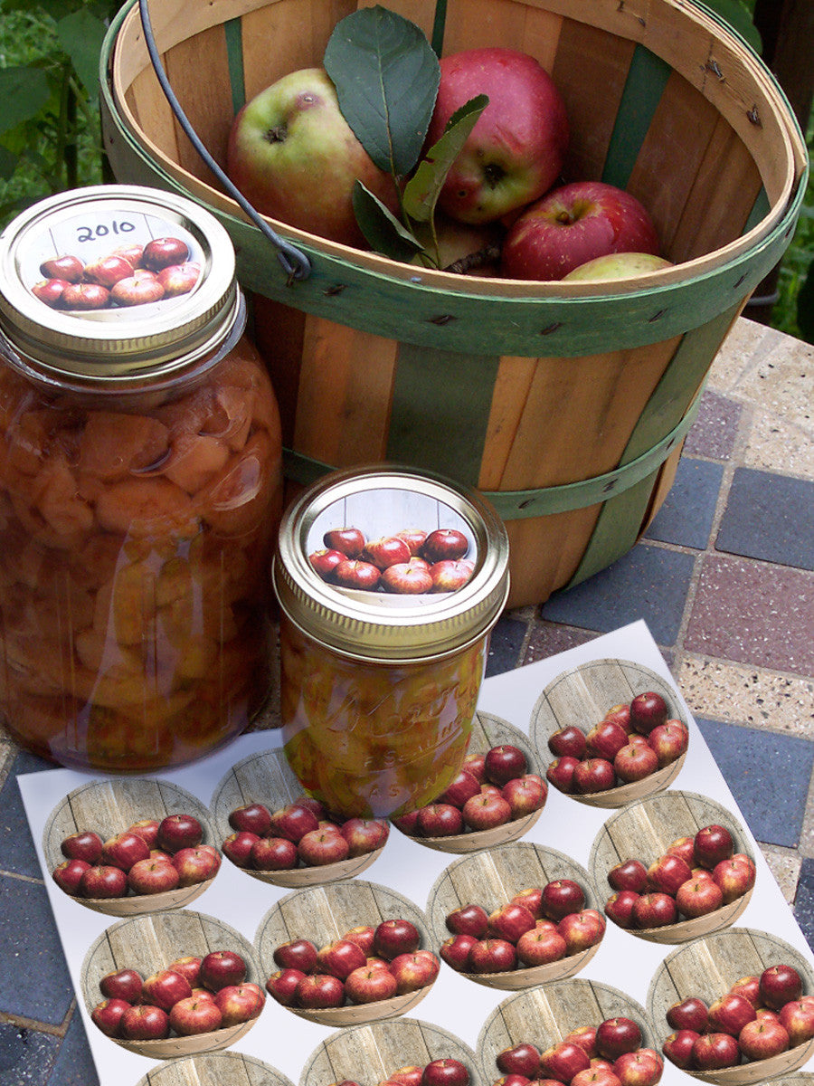Apple Canning Labels