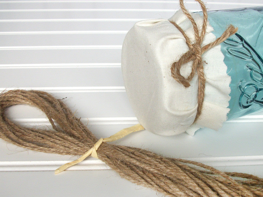 Natural Jute Twine Ribbon | CanningCrafts.com
