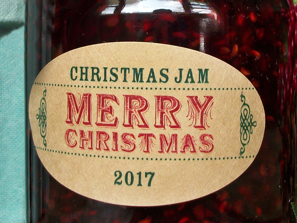 Custom Christmas Canning Jar Labels | CanningCrafts.com