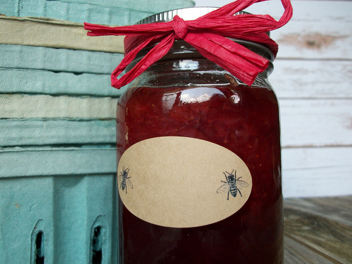 Oval Honey Canning Jar Label | CanningCrafts.com