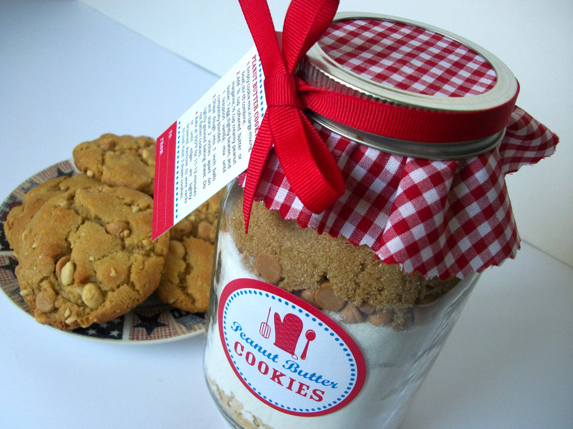 Peanut Butter Cookie Mason Jar Kit | CanningCrafts.com