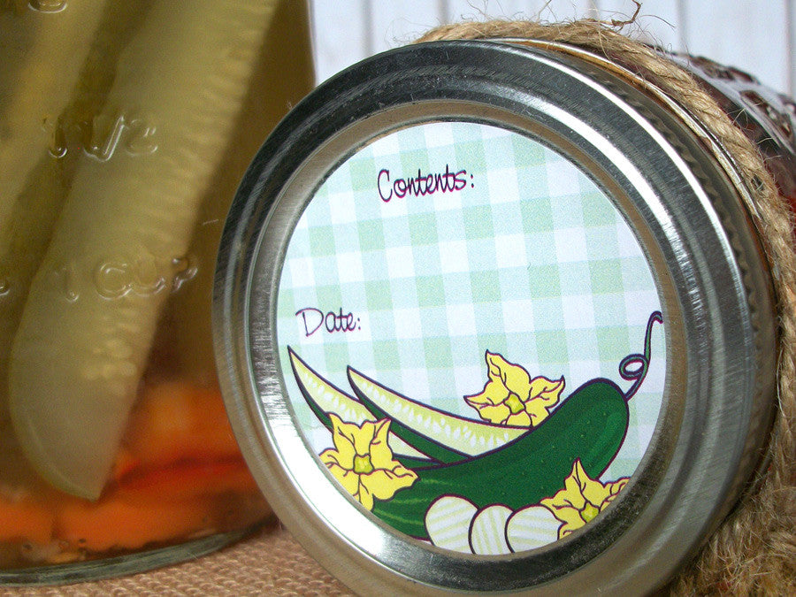 Pickle Canning Labels | CanningCrafts.com