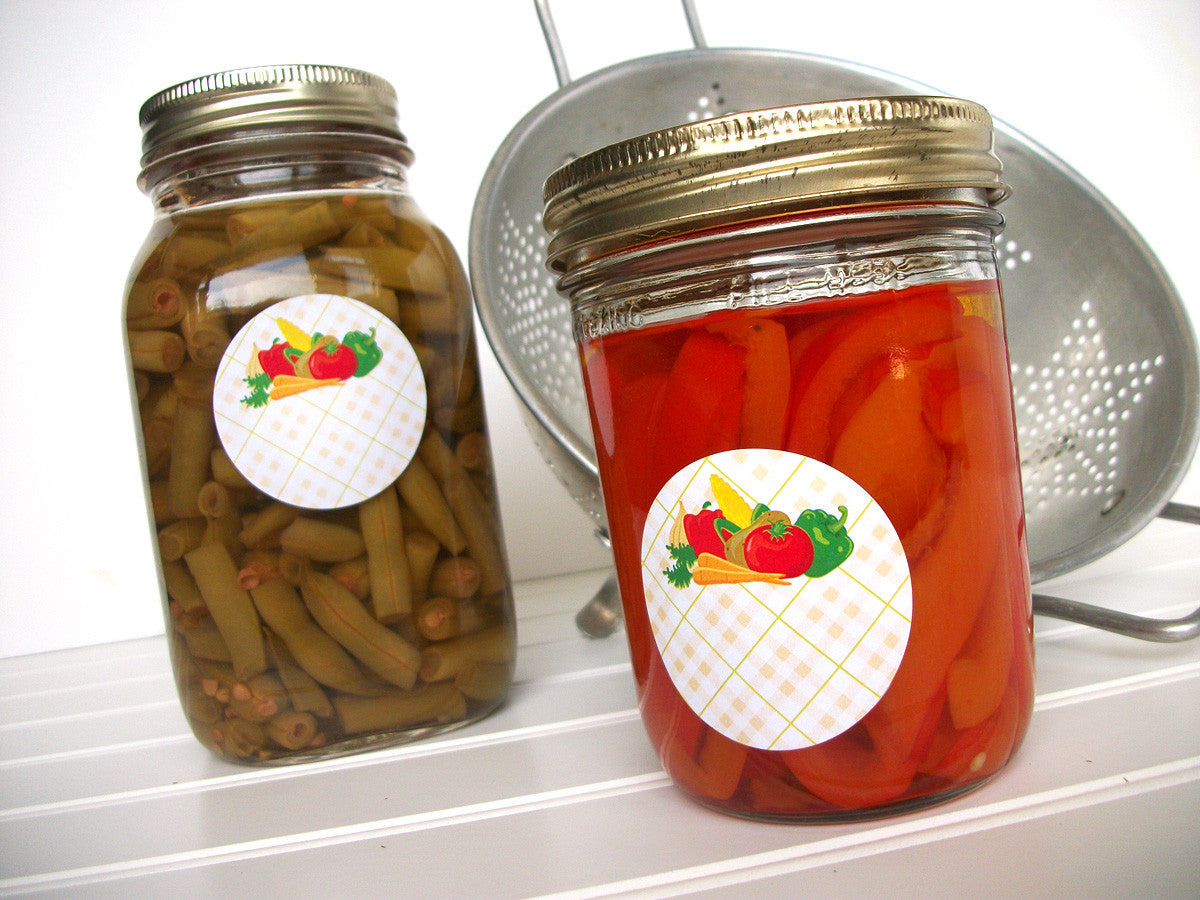 Vegetable Canning Jar Labels | CanningCrafts.com