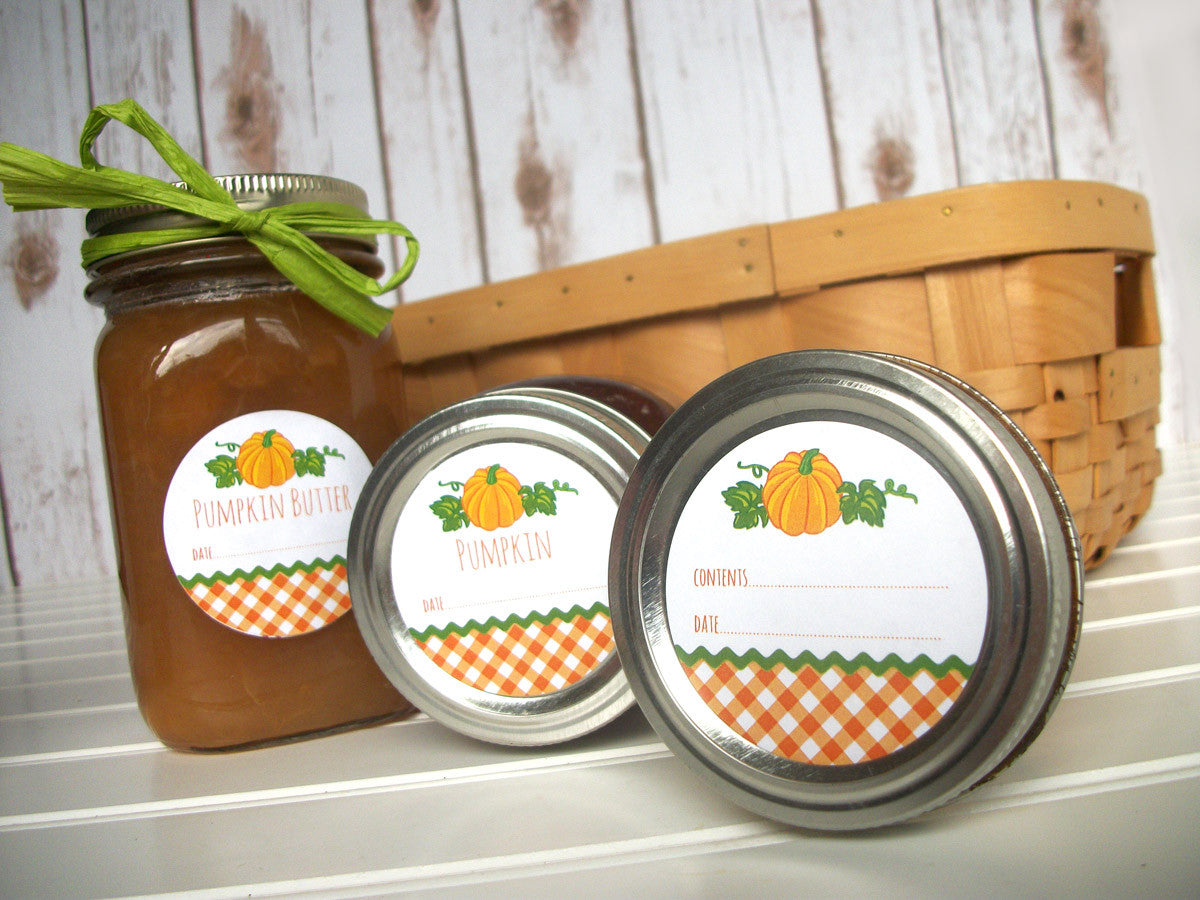 pumpkin canning labels | CanningCrafts.com