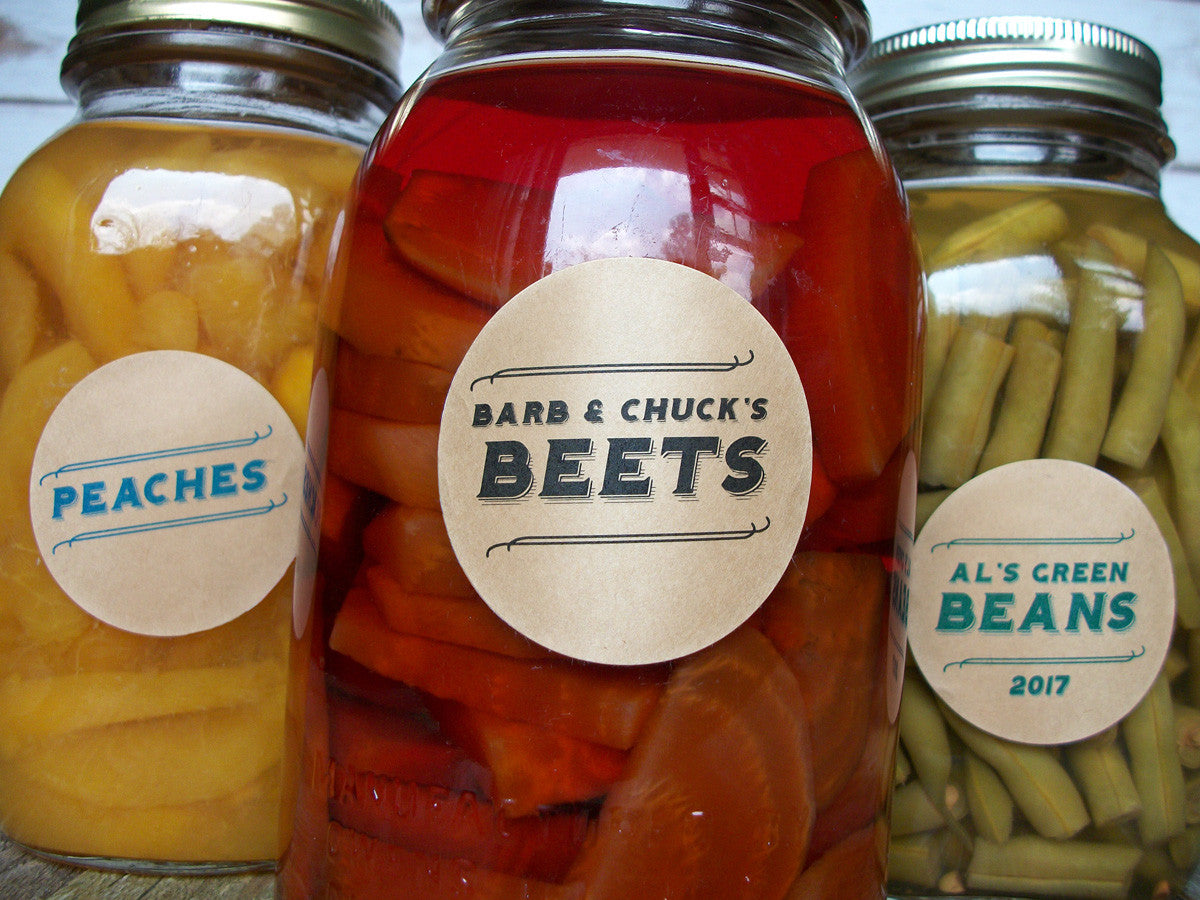 Custom Canning Jar Labels | CanningCrafts.com