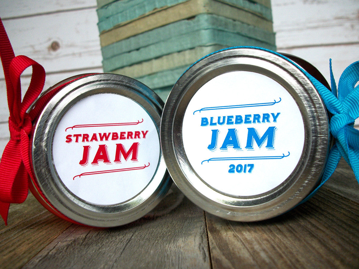 Custom Mason Jar Labels | CanningCrafts.com