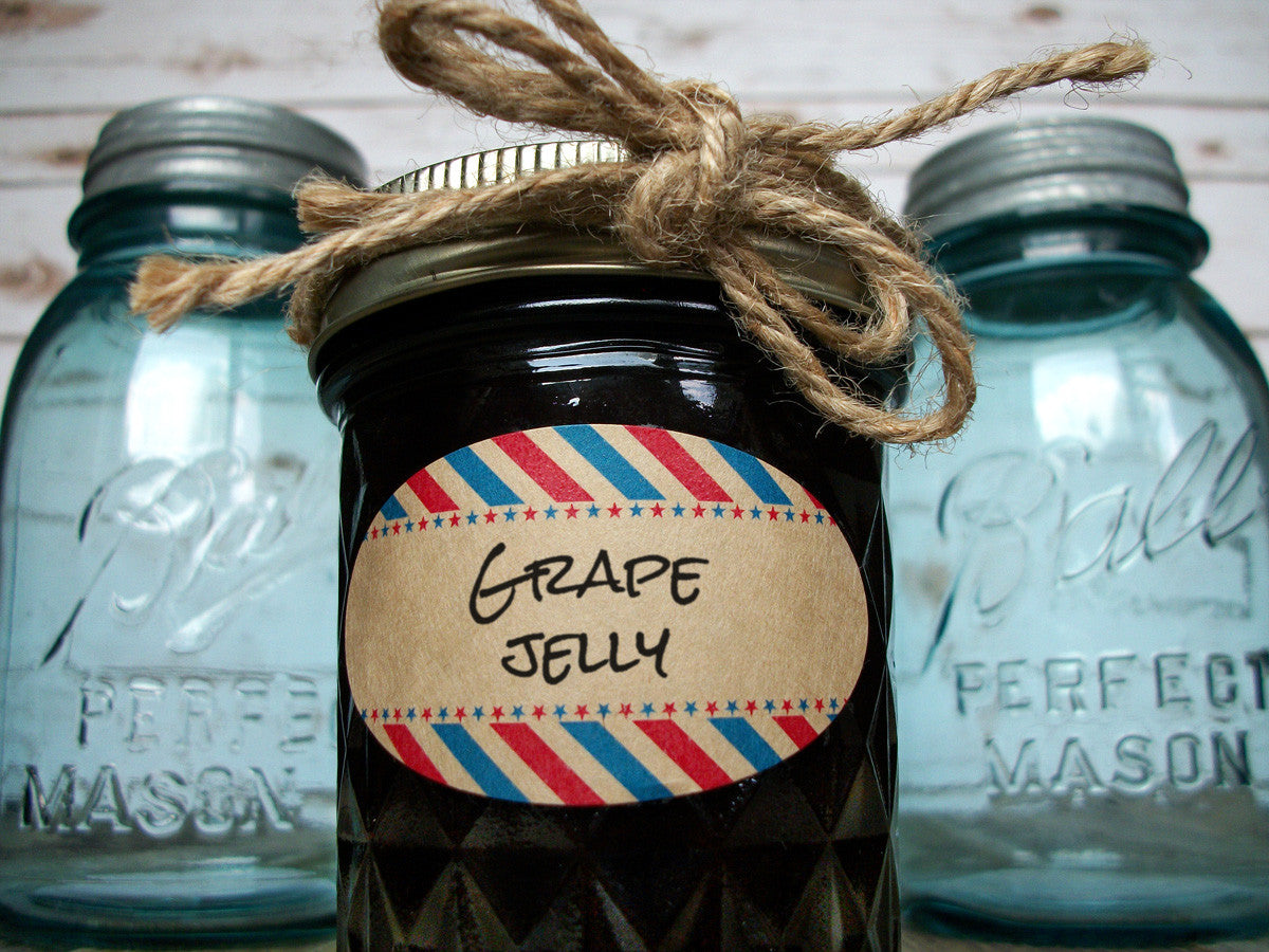 Oval canning jar labels | CanningCrafts.com