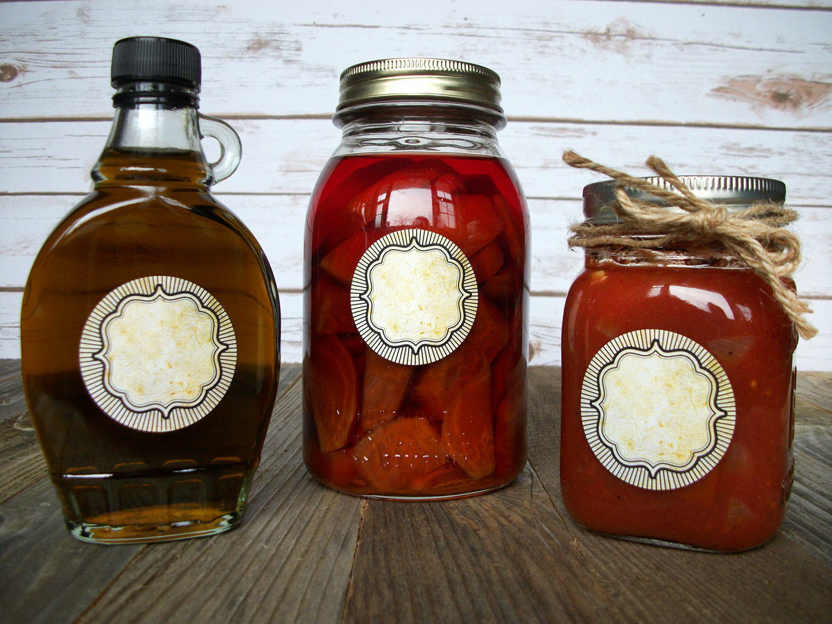 vintage mason canning jar labels | CanningCrafts.com