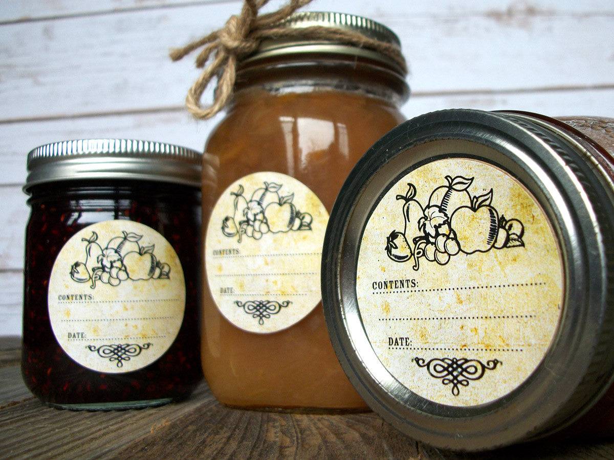 vintage fruit canning label | CanningCrafts.com