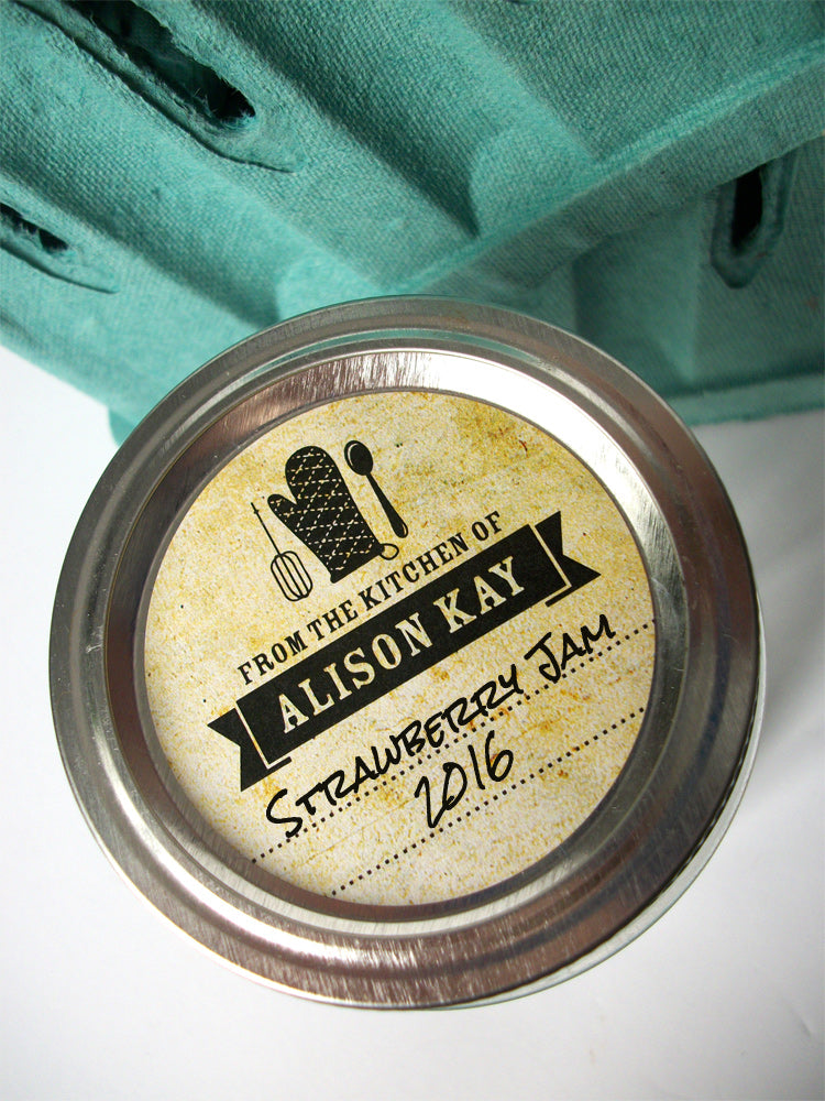Custom Vintage from the Kitchen of Labels | CanningCrafts.com