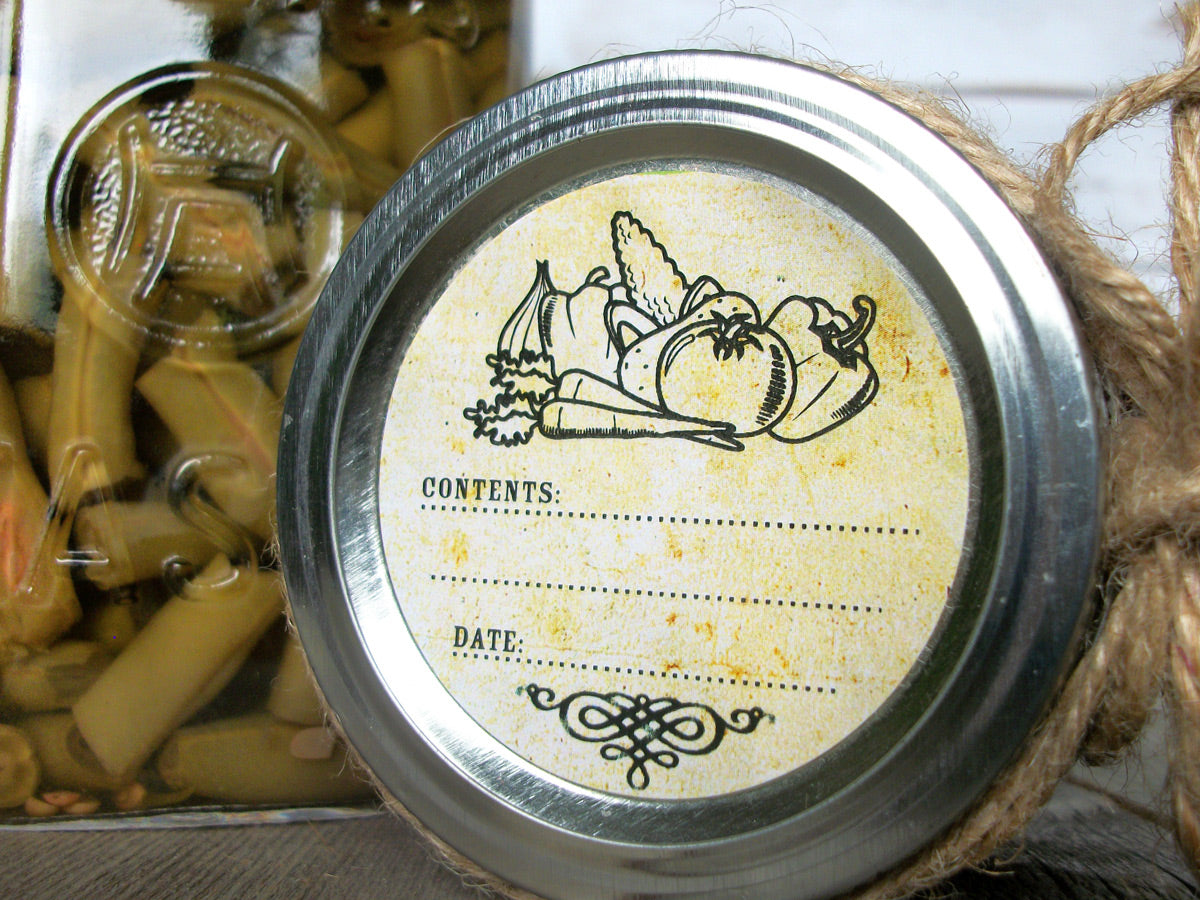 Vintage vegetable canning labels | CanningCrafts.com