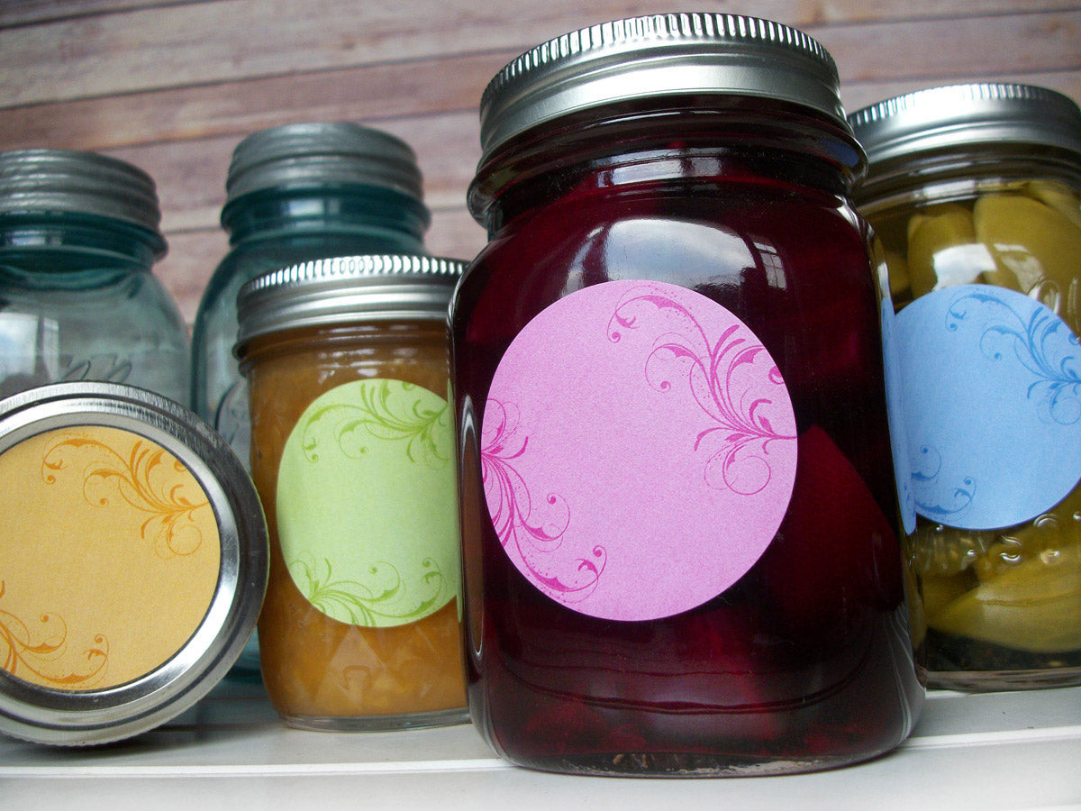 Whimsical Canning Labels | CanningCrafts.com