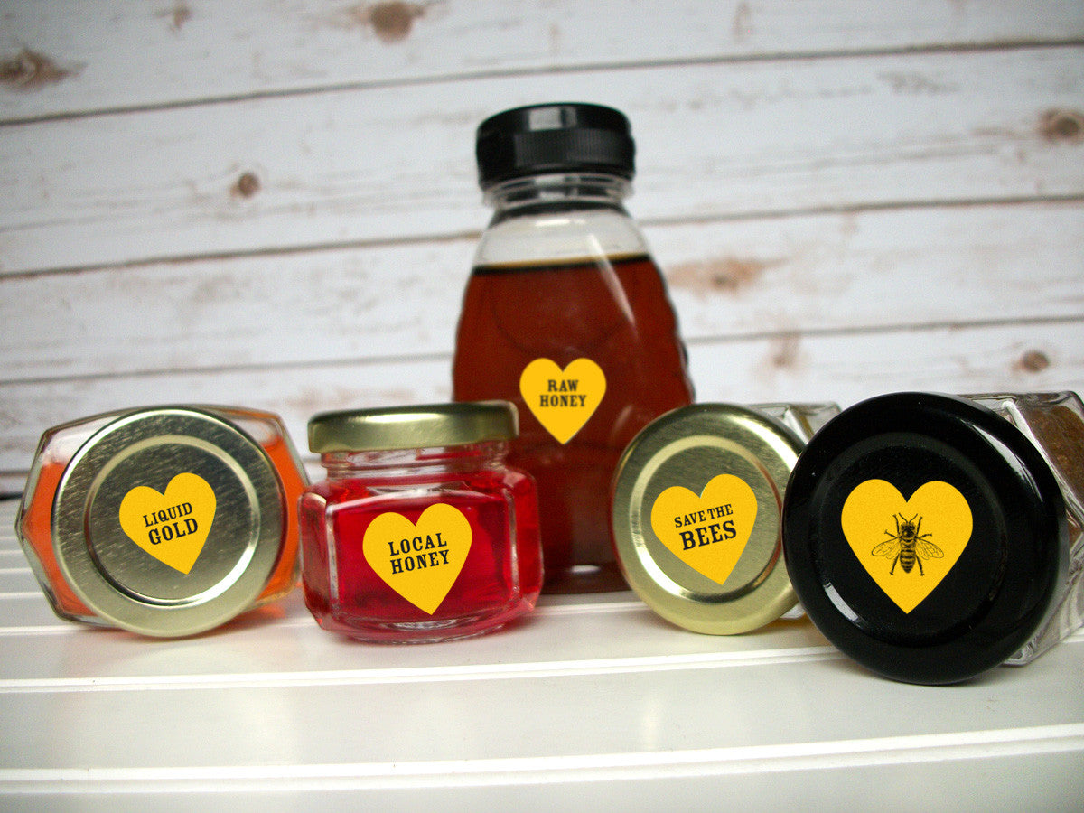 Liquid Gold honey bottle labels | CanningCrafts.com