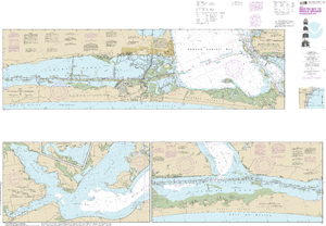 NOAA Nautical Chart 11308: Intracoastal Waterway Redfish Bay to Middle Ground