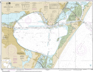 NOAA Nautical Chart 11309: Corpus Christi Bay