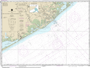 NOAA Nautical Chart 11321: San Luis Pass to East Matagorda Bay