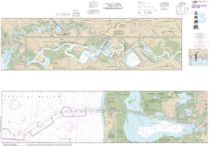NOAA Nautical Chart 11347: Calcasieu River and Lake