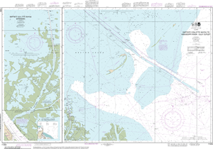 NOAA Nautical Chart 11353: Baptiste Collette Bayou to Mississippi River Gulf Outlet;Baptiste Collette Bayou Extension