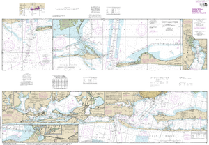 NOAA Nautical Chart 11378: Intracoastal Waterway Santa Rosa Sound to Dauphin Island