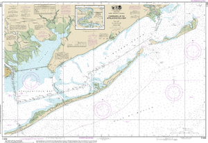NOAA Nautical Chart 11404: Intracoastal Waterway Carrabelle to Apalachicola Bay;Carrabelle River