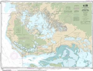 NOAA Nautical Chart 11433: Everglades National Park Whitewater Bay