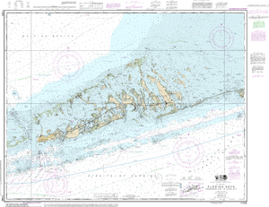 NOAA Nautical Chart 11442: Florida Keys Sombrero Key to Sand Key