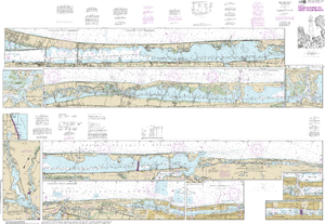 NOAA Nautical Chart 11472: Intracoastal Waterway Palm Shores to West Palm Beach;Loxahatchee River