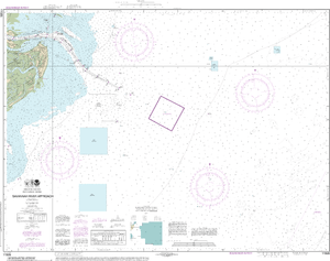 NOAA Nautical Chart 11505: Savannah River Approach